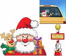 Vvrai Amour Christmas Ho Ho Santa Claus und Elch