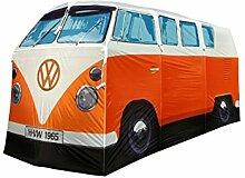 VW Campingzelt Bus orange, Camping Zelt - T1 Bully Camper Zelt, Geschenkidee für VW Bulli Fans, Weihnachtsgeschenk Autofans, Männergeschenk