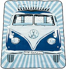 VW Collection by Brisa Picknickdecke, Classic blau