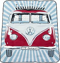 VW Collection by Brisa Picknickdecke, klassisch ro