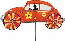 VW Käfer, Spinner. Garden Windspiel, Orange