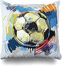 VwuuzLpOD Pillowcase Enjoyment Ball Football