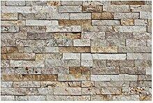 W-012 Wand-Design Verblender Travertin Steinwand -