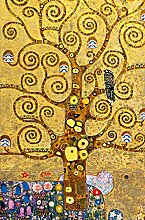 W+G Giant Art® XXL-Poster Tree of Life Swirl
