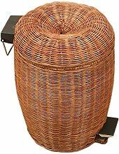 W&H Mülleimer - Bambus Und Rattan,