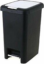 W&H Mülleimer-Box, Handbetriebene Flip