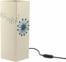 W-Lamp wlpo236Telethon Traum-Möbel Design, Papier, creme, 11x 11x 32cm