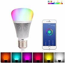 W-lan Die Glühbirne LED Farbige Lichter Dimmbar