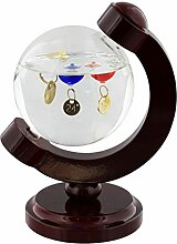W M Widdop Galileo Thermometer Globe Style Home