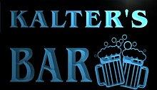 w047062-b KALTER Name Home Bar Pub Beer Mugs Cheers Neon Light Sign Barlicht Neonlicht Lichtwerbung