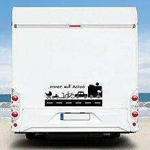WA10 Clickzilla - Wohnmobil Aufkleber - Wohnwagen