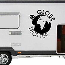 WA104 Clickzilla - Wohnmobil Aufkleber - Wohnwagen - Globetrotter