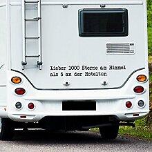 WA304 Clickzilla - Wohnmobil Aufkleber - Wohnwagen