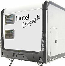 WA310 Clickzilla - Wohnmobil Aufkleber - Wohnwagen Aufkleber - Hotel Campingski