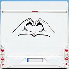 WA400 Clickzilla - Wohnmobil Aufkleber - Wohnwagen - Love