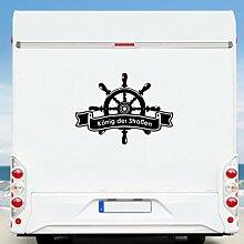 WA60 Clickzilla - Wohnmobil Aufkleber - Wohnwagen - Ruder