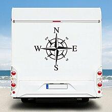 WA92 Clickzilla - Wohnmobil Aufkleber - Wohnwagen