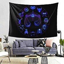 Waage Hippie Neon Horoskop Kreiszeichen