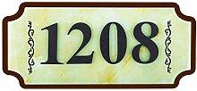 WaaHome Hausnummernschild Adressnummern