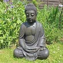 Wachs-Buddha-Statue, sieht aus wie aus altem