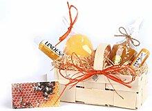 WACHSMACHER Geschenkkorb Bienenwachs, Geschenkidee