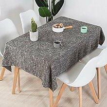 wachstischdeckeBaumwolle und Leinen Tischdecke