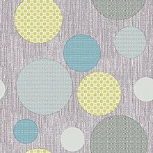 Wachstuch Bubbles Blau · Eckig 105x360 cm · Länge & Breite wählbar· - abwaschbare Tischdecke