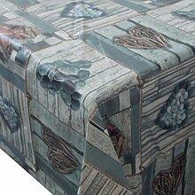 Wachstuch Cuore · Eckig 140x190 cm · Länge wählbar· abwaschbare Tischdecke
