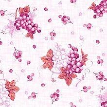 Wachstuch Grape Pink · Eckig 140x2500 cm · 1