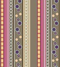 Wachstuch Tischdecke Abwaschbar Eckig 140 x 240 cm Meterware Taupe
