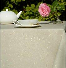 Wachstuch-Tischdecke Funkeln aus 100% Baumwolle