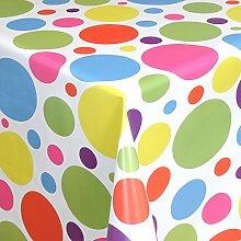 Wachstuch Tischdecke Gartentischdecke mit