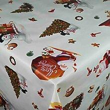 Wachstuch Tischdecke Gartentischdecke Weihnachten