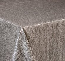 Wachstuch Tischdecke, Größe wählbar, d-c-fix Top Qualität Meterware, versiegelt abwischbar geprägt Sharon Marone (160 x 140 cm)