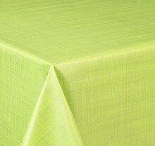 Wachstuch Tischdecke, Größe wählbar, d-c-fix Top Qualität Meterware, versiegelt abwischbar geprägt Sharon Limone (200 x 140 cm)