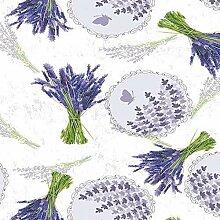 Wachstuch Tischdecke Meterware Lavendel C142051