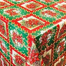 Wachstuch Tischdecke Meterware Motiv Weihnachten