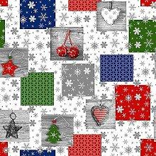 Wachstuch Tischdecke Meterware Weihnachten K1033-1