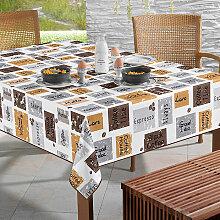 Wachstuch Tischdecke