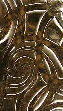 Wachsverzierfolien gold Anzahl 10 Stück, Größe