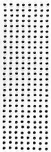 Wackelaugen, selbstklebend, 8mm Ø, schwarz, 670