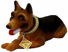Wackelkopf Schäferhund 11 x 9 x 20 cm, 165 Gramm