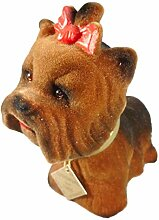 Wackelkopf Yorkshire Terrier 15 x 12 x 7 cm Hund