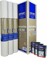 WACOLIT-SET 3 Rollen 56,25m² ERFURT Eco Vlies