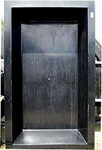 Wacredo GFK Rechteckbecken 300x180x52cm schwarz