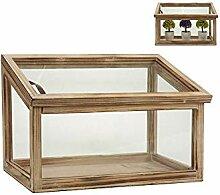 Wadiga Gewächshaus aus aus Glas und Holz