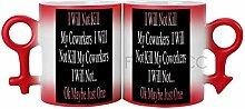 Wärmeempfindliche Farbwechsel-Kaffeetasse, 325