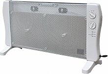 Wärmewelle Infrarot Heizgerät Elektroheizung 2 Heizstufen 2.000 Wa