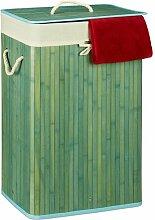 Wäschebehälter aus Bambus BohoLiving Farbe: Blau