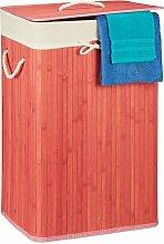 Wäschebehälter aus Bambus BohoLiving Farbe: Pink
